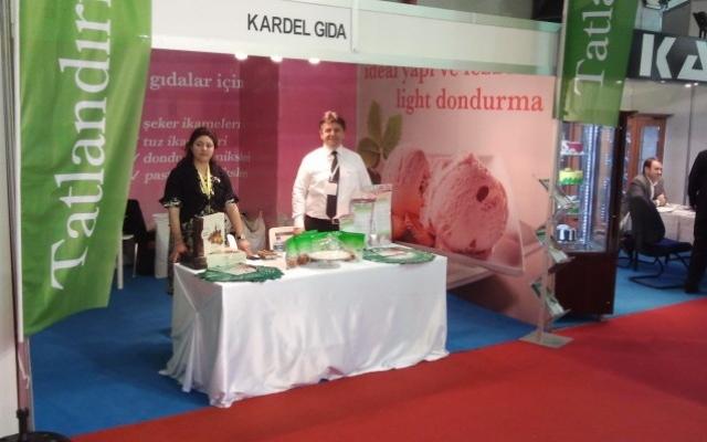 Fibrelle prebiyotik lifli tatlandırıcı 2012 IBATech fuarında büyük ilgiyle karşılandı
